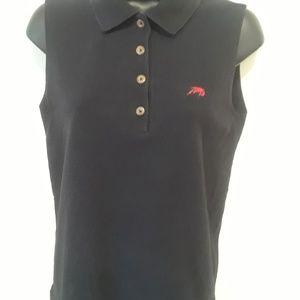 Perlis Skirts - Perlis women's sleeveless Polo medium black